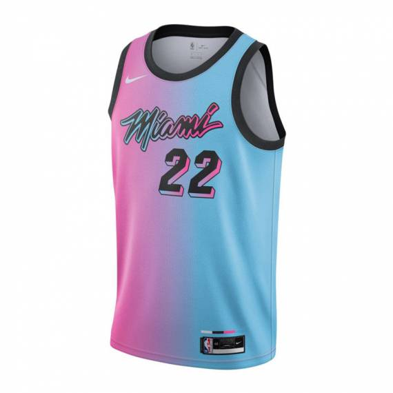 JIMMY BUTLER MIAMI HEAT CITY EDITION SWINGMAN JERSEY 2021 (JUNIOR)