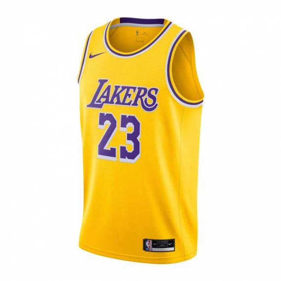 LEBRON JAMES LOS ÁNGELES LAKERS ICON EDITION SWINGMAN JERSEY 2021