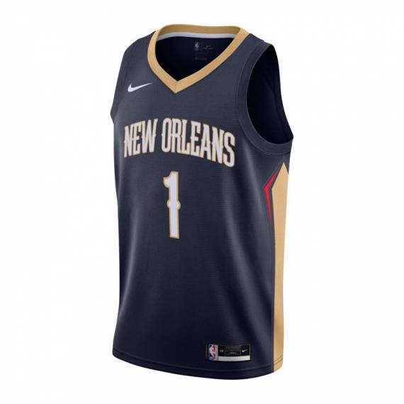 ZION WILLIAMSON NEW ORLEANS PELICANS ICON EDITION SWINGMAN JERSEY 2021