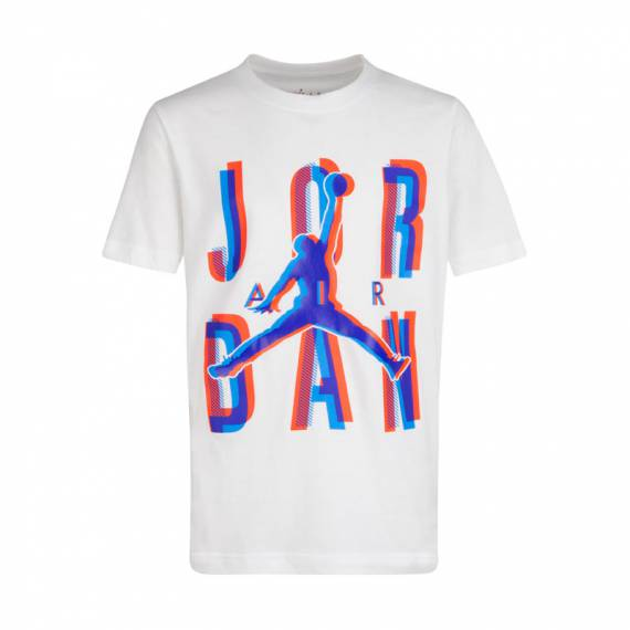 JORDAN SPACE EXPLORATION TEE WHITE (JUNIOR)