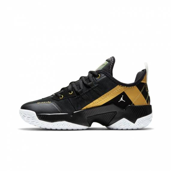 JORDAN ONE TAKE II BLACK GOLD (JUNIOR)