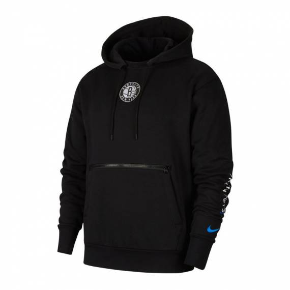 BROOKLYN NETS CITY EDITION HOODIE COURTSIDE