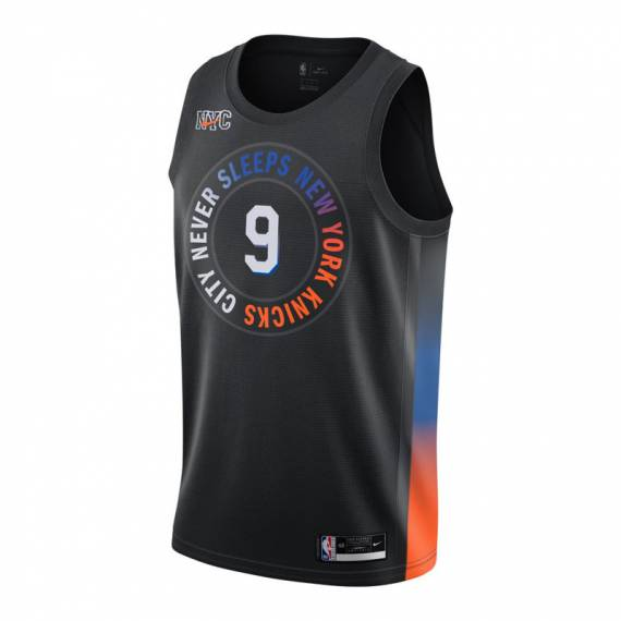 RJ BARRETT NEW YORK KNICKS CITY EDITION SWINGMAN JERSEY 2021