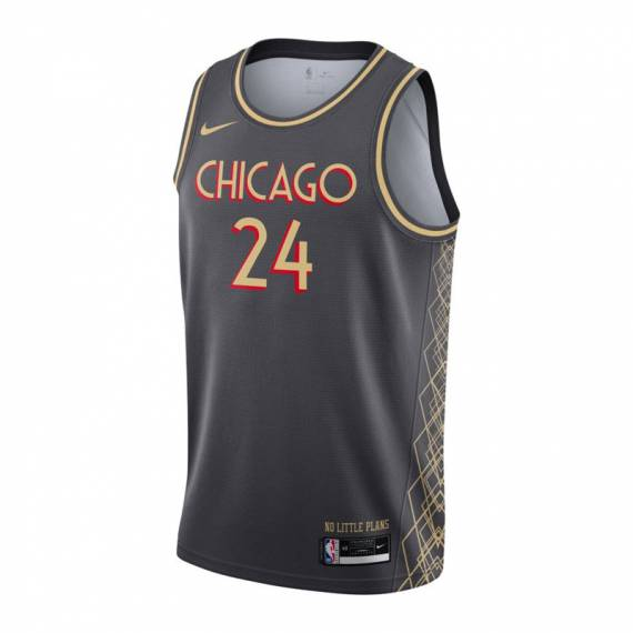 LAURI MARKKANEN CHICAGO BULLS CITY EDITION SWINGMAN JERSEY 2021