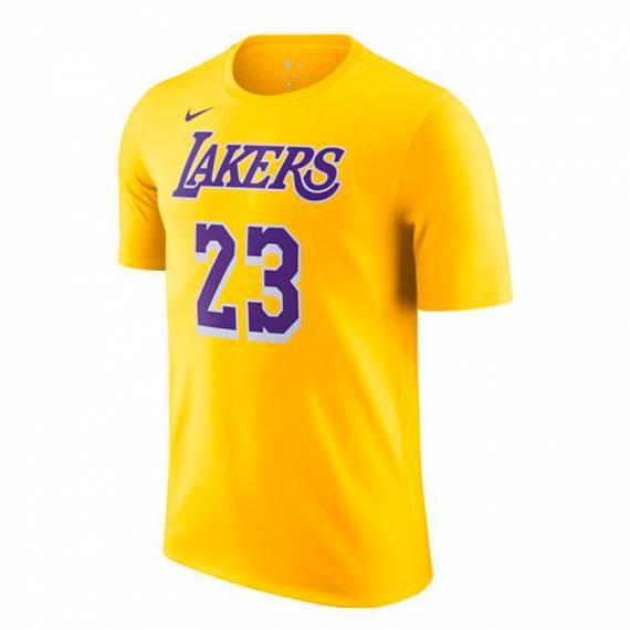 LEBRON JAMES LOS ANGELES LAKERS ICON EDITION TEE 2021 (JUNIOR)
