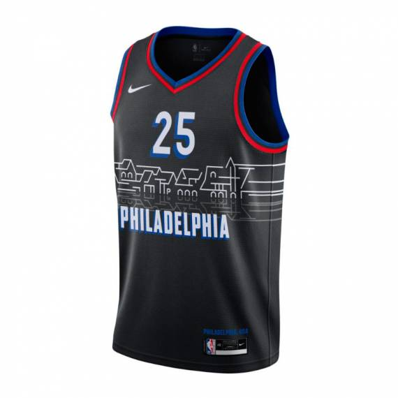 BEN SIMMONS PHILADELPHIA 76ERS CITY EDITION SWINGMAN JERSEY 2021