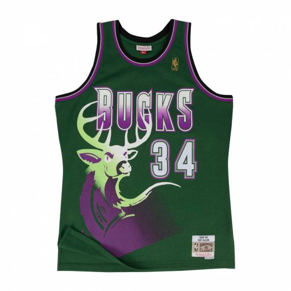 RAY ALLEN MILWAUKEE BUCKS HARDWOOD CLASSICS '96-'97
