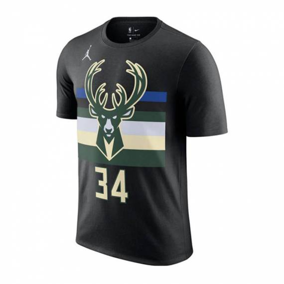 GIANNIS ANTETOKOUNMPO MILWAUKEE BUCKS STATEMENT EDITION N&N TEE 2021 (JUNIOR)