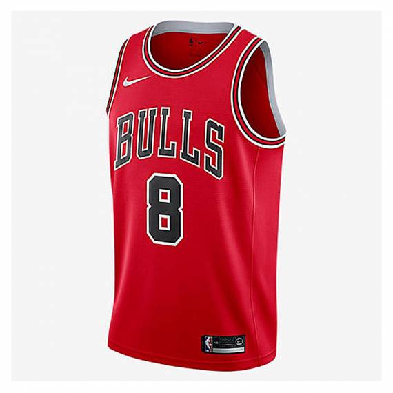 ZACH LAVINE CHICAGO BULLS ICON EDITION SWINGMAN JERSEY 2021 (JUNIOR)