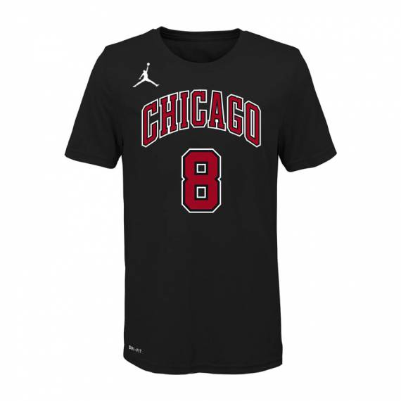 ZACH LAVINE CHICAGO BULLS STATEMENT EDITION N&N TEE 2021 (JUNIOR)