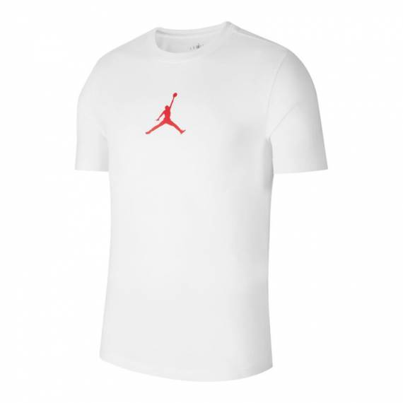 JORDAN JUMPMAN BASIC CREW WHITE