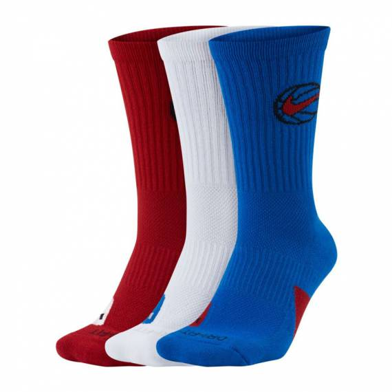 NIKE CREW EVERYDAY BBALL TRICOLOR 2 (3 PACK)