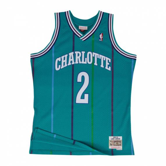LARRY JOHNSON CHARLOTTE HORNETS 92-93