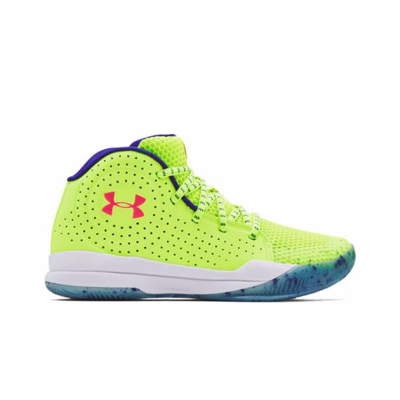 UA JET SPLASH GREEN (JUNIOR)