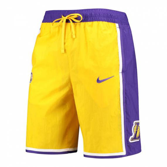LOS ANGELES LAKERS COURTSIDE HERITAGE SHORT