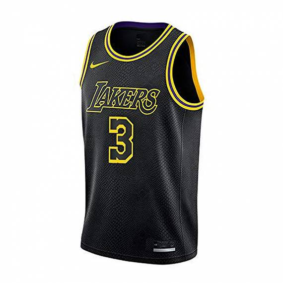 ANTHONY DAVIS LOS ANGELES LAKERS MAMBA EDITION SWINGMAN JERSEY (JUNIOR)
