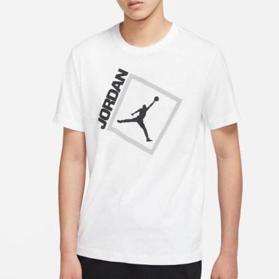 JORDAN JUMPMAN BOX CREW TEE WHITE