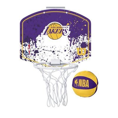 WILSON NBA TEAM MINI HOOP LAKERS