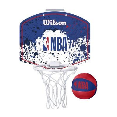 WILSON NBA TEAM MINI HOOP NBA LOGO