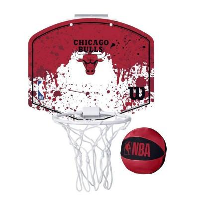 WILSON NBA TEAM MINI HOOP BULLS