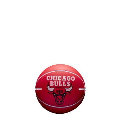 WILSON NBA DRIBBLER TOY BALL BULLS