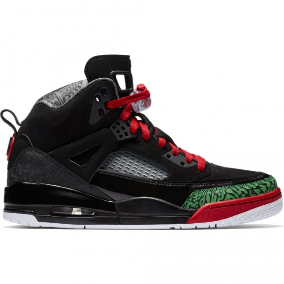 JORDAN SPIZIKE BLACK RED GREEN