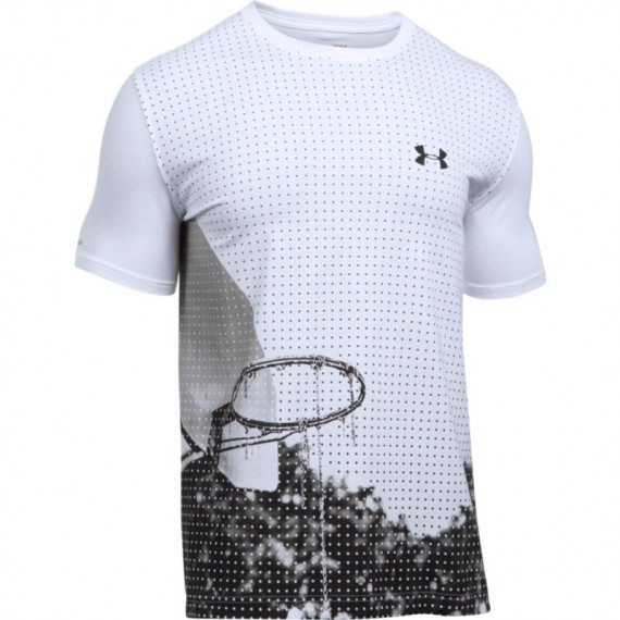 CAMISETA UNDER ARMOUR ON THE COURT TROUBLE SS TEE