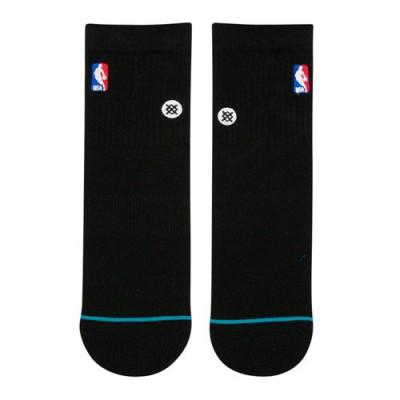 NBA LOGOMAN QTR STANCE BLACK