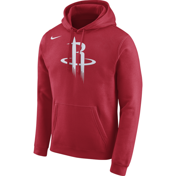 HOUSTON ROCKETS HOODIE  CLUB LOGO