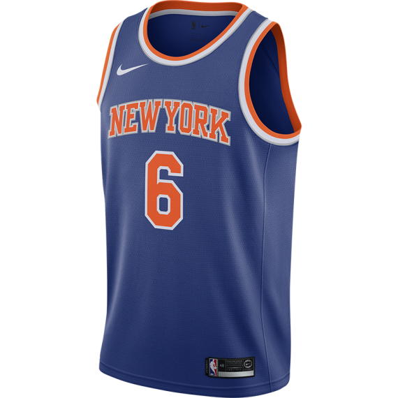 KRISTAPS PORZINGIS ICON EDITION SWINGMAN JERSEY (NEW YORK KNICKS)