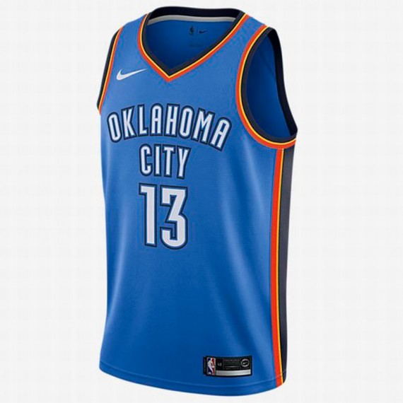 PAUL GEORGE ICON EDITION SWINGMAN JERSEY OKLAHOMA CITY THUNDER