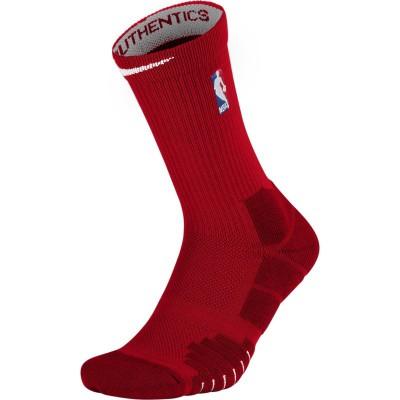 NBA NIKE ELITE QUICK CREW ON COURT RED