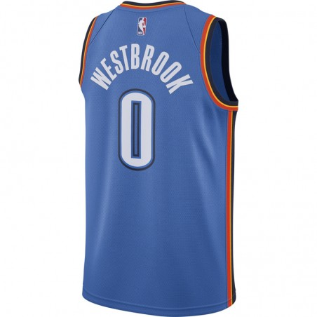 RUSSELL WESTBROOK ICON EDITION SWINGMAN JERSEY OKLAHOMA CITY THUNDER