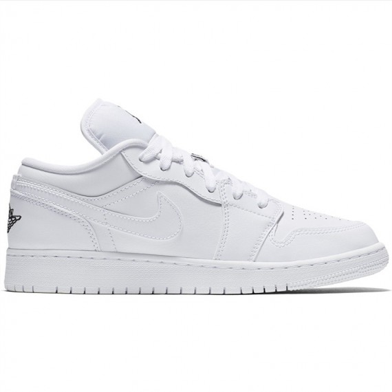 JORDAN 1 LOW BG WHITE