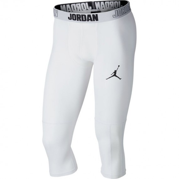 MEN'S JORDAN DRY 23 ALPHA 3/4 TRAINING TIGHTS WHITE