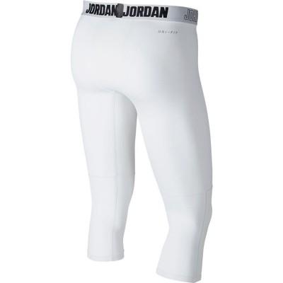 MEN'S JORDAN DRY 23 ALPHA 3/4 TRAINING TIGHTS WHITE