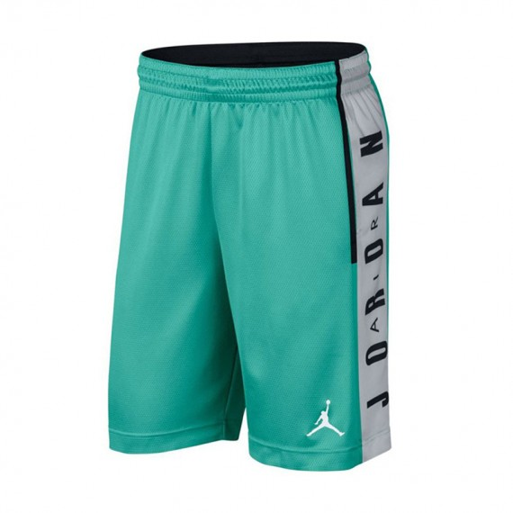 RISE GRAPHIC SHORT GREEN AQUA