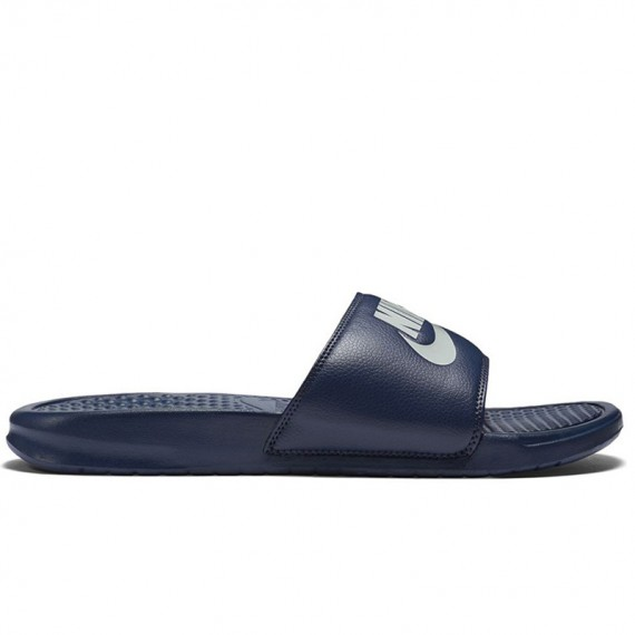 NIKE BENASSI JUST DO IT NAVY BLUE
