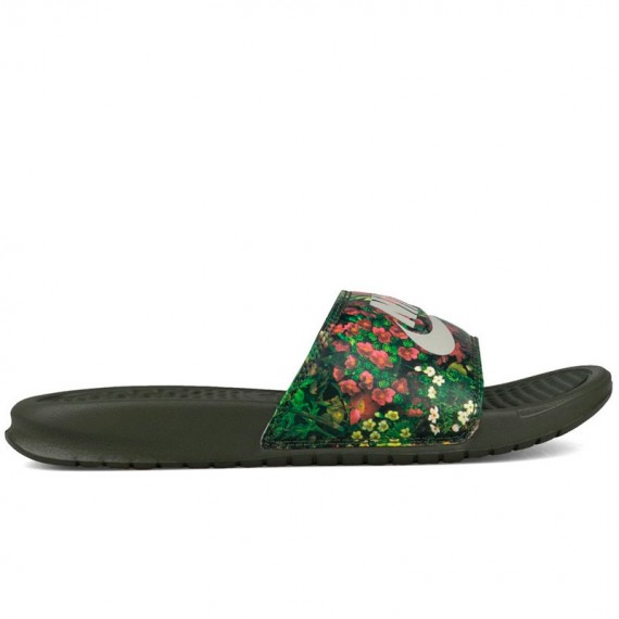 NIKE BENASSI JUST DO IT FLOWER PRINT