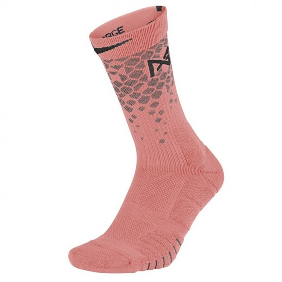 PAUL GEORGE ELITE QUICK BASKETBALL SOCKS PINK