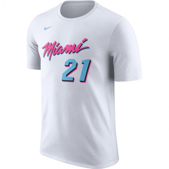 NIKE NBA HASSAN WHITESIDE MIAMI HEAT CITY EDITION