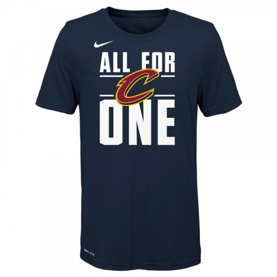 NBA NIKE CLEVELAND CAVALIERS VERBIAGE SS TEE