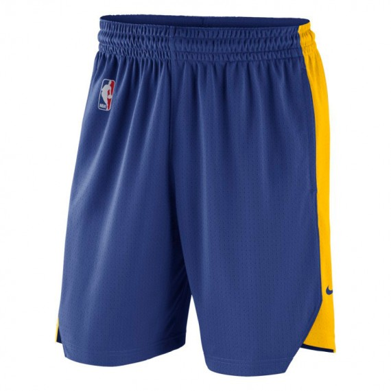 NIKE NBA JUNIOR PRO PRACTICE WARRIORS MESH SHORT