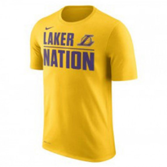 LOS ANGELES LAKERS VERBIAGE SS TEE JUNIOR
