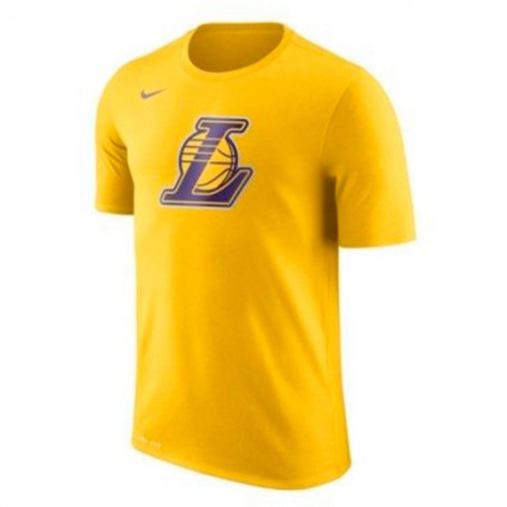 LOGO LAKERS DRI-FIT COTTON TEE JUNIOR