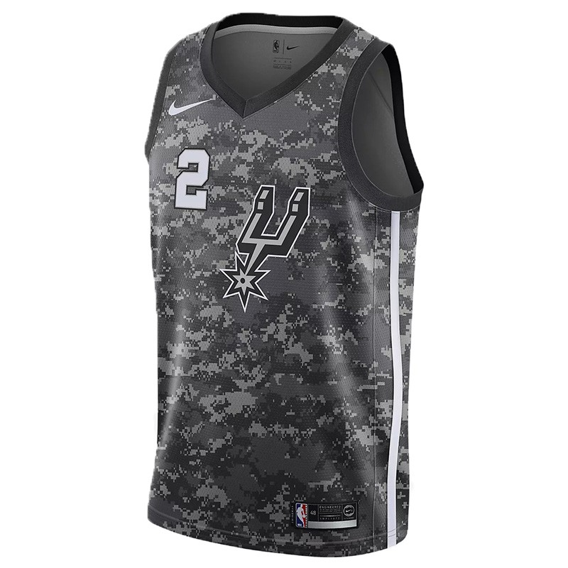 KAWHI LEONARD SAN ANTONIO SPURS CITY EDITION SWINGMAN JERSEY JUNIOR