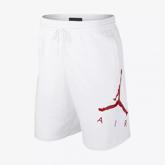 JORDAN JUMPMAN AIR GFX FLC SHORT WHITE