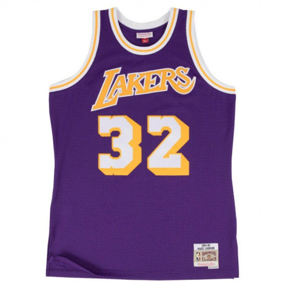 Mitchell & Ness NBA MAGIC JOHNSON LA LAKERS HARDWOOD CLASSIC