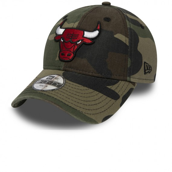 9FORTY CHICAGO BULLS CASQUETTE WASHED CAMO