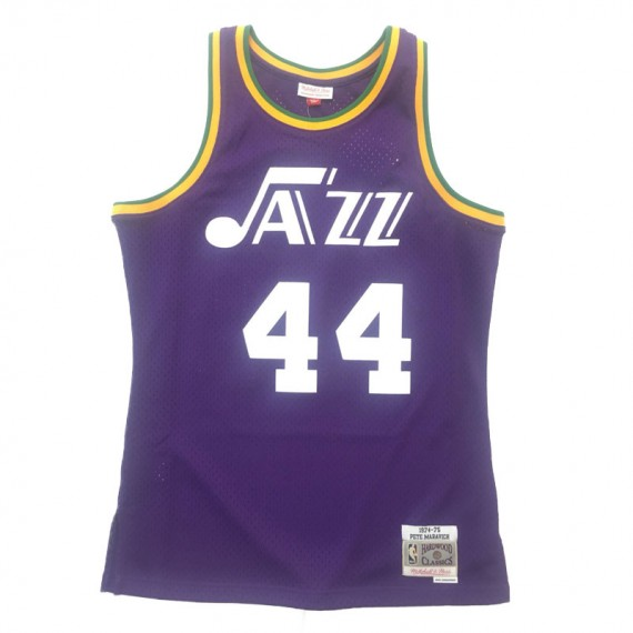 NEW ORLEANS JAZZ PETE MARAVICH HARDWOOD CLASSIC